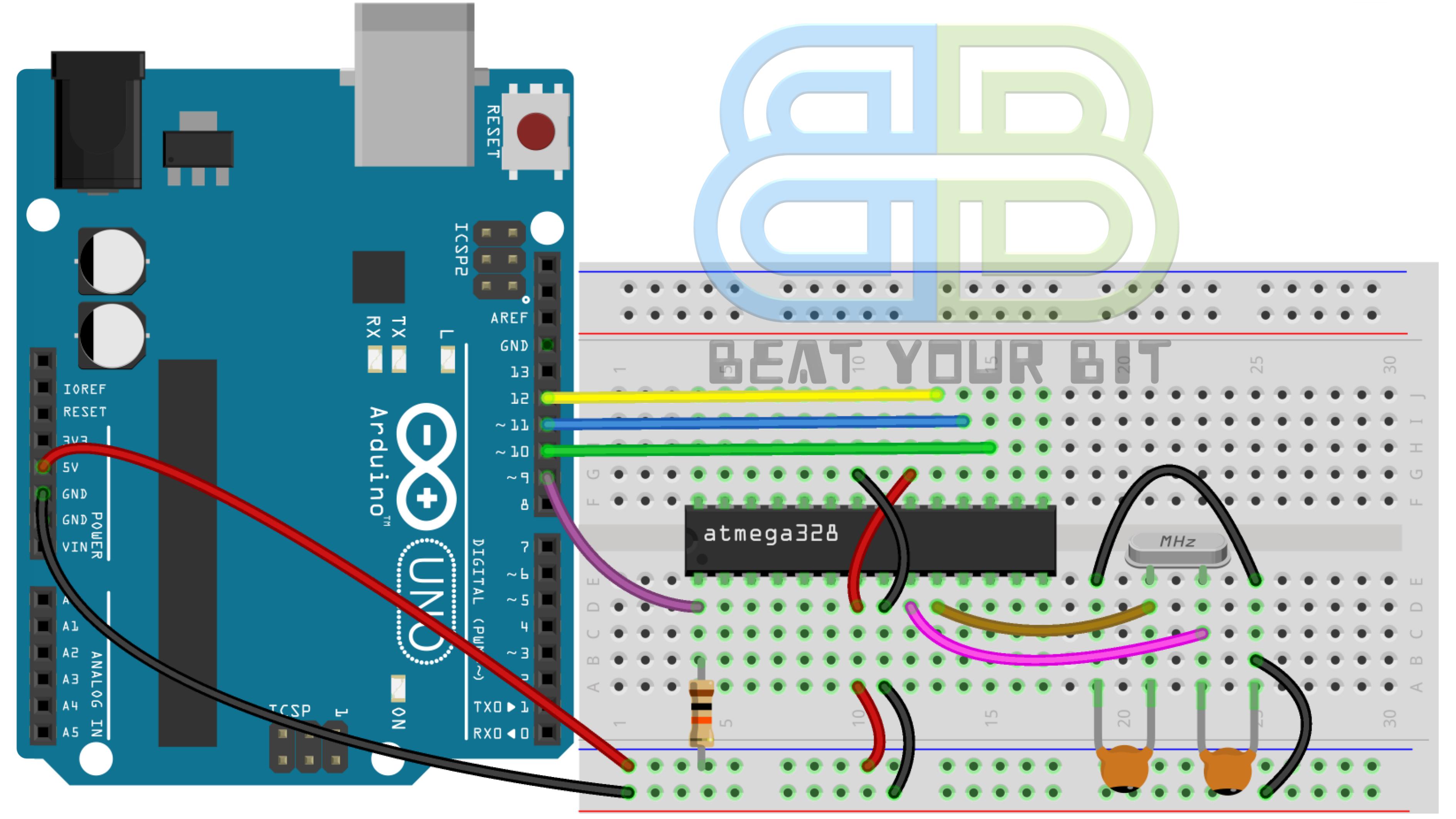 Arduino Standalone Breadboard Configuration