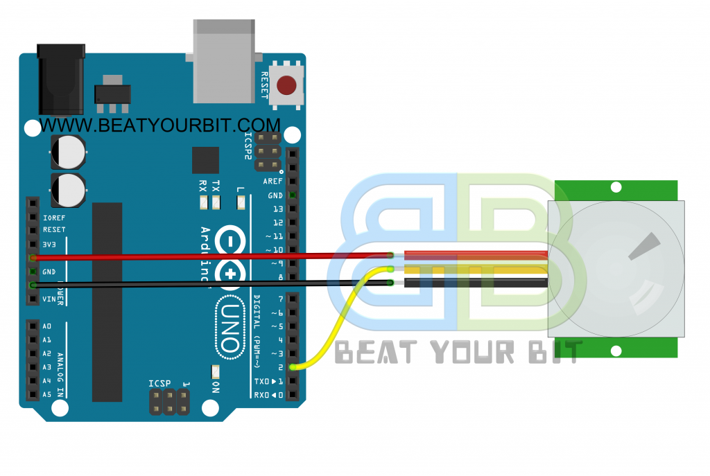 PIR Motion Arduino Interface